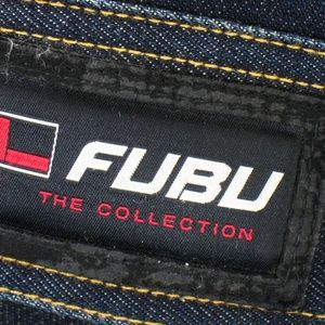 FUBU Jackets & Coats - Fubu - Denim Trucker Jacket - Zip Front Sz XXL